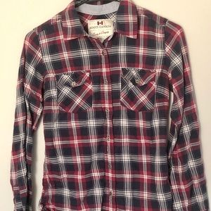 Roots Tops - Roots Plaid Button-up
